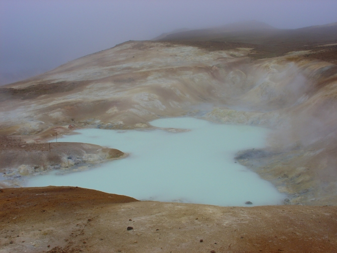 Marmites de boue - Leirhnjúkur, système volcanique de Krafla - Islande (Nord)