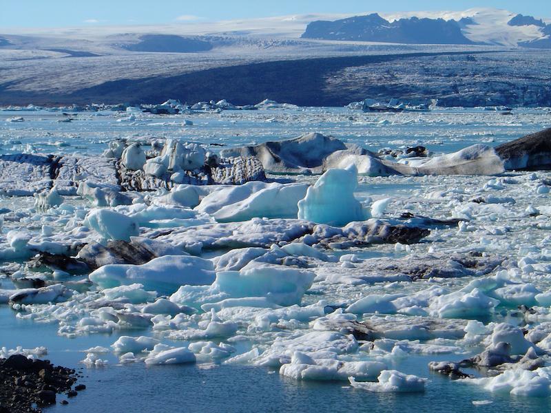 Lac glaciaire de Jökulsárlón - Islande (Sud)