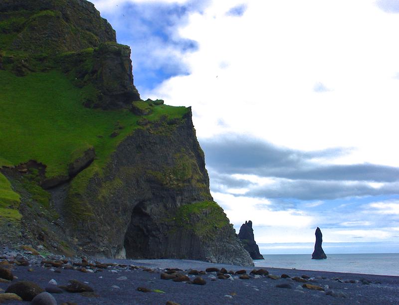 Plage de Vík í Mýrdal - Islande (Sud)