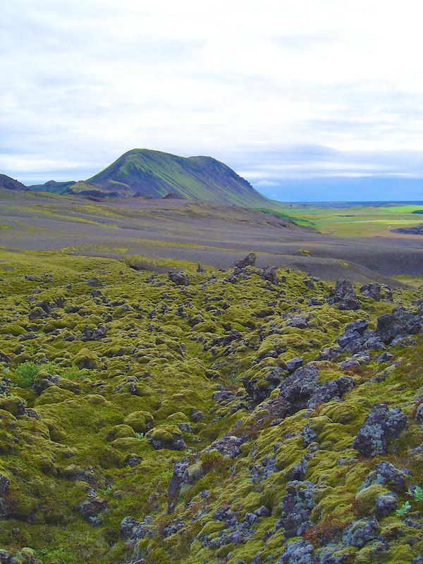 Dans les environs du volcan Hekla - Islande (Sud)