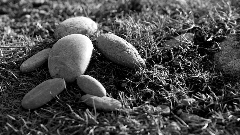 Heureux les petits galets, Esquibien - Canon EOS 7D – 420 mm – f/5,6 – 1/800s – 640 ISO