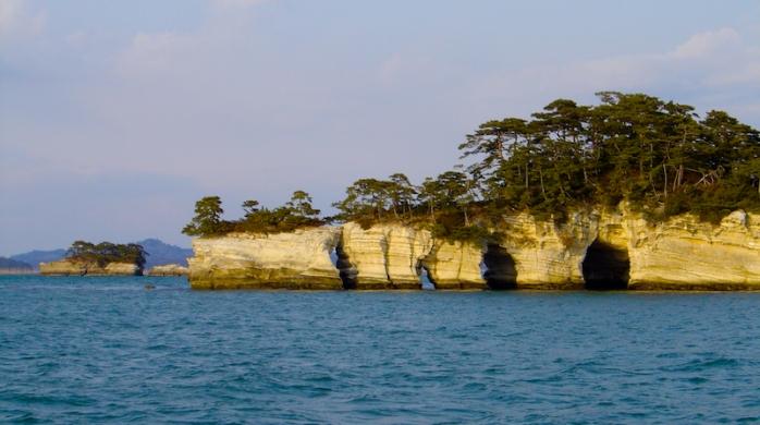 Archipel de Matsushima - préfecture de Miyagi - région de Tōhoku - Japon. Un des nombreux endroits touchés par le tsunami de 2011.