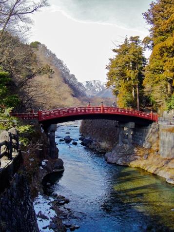Shinkyō enjambant le Daiyagawa - Nikko - préfecture de Tochigi - région du Kantō - Japon