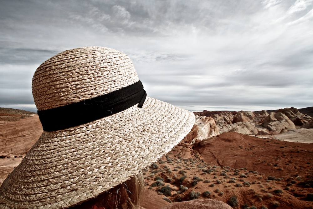 Contemplation, On the road to White Domes, Valley of Fire State Park, Névada
