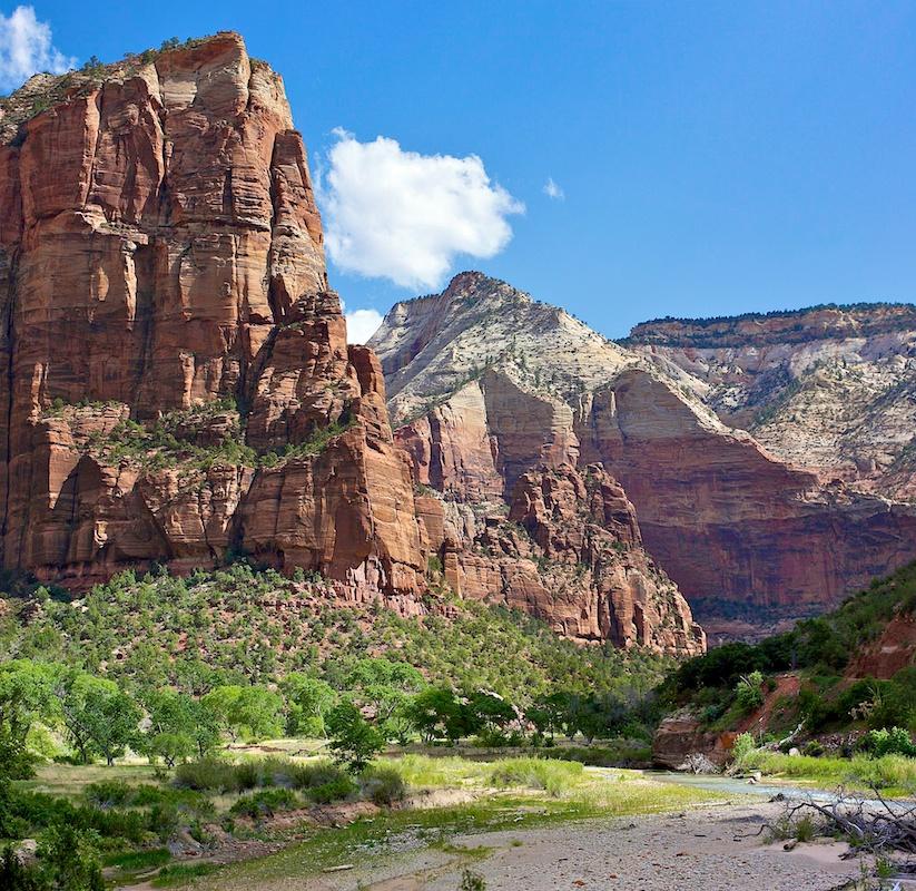 Au pied du mur - Zion National Park - Utah