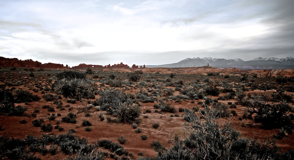 Crépuscule - Arches National Park - Utah