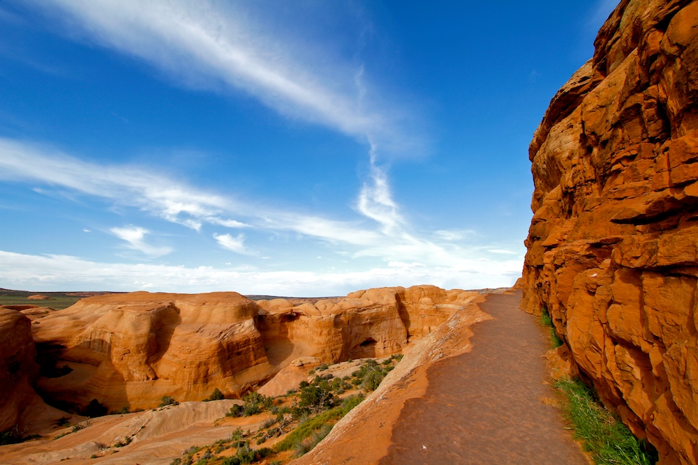 Delicate Arch Trail