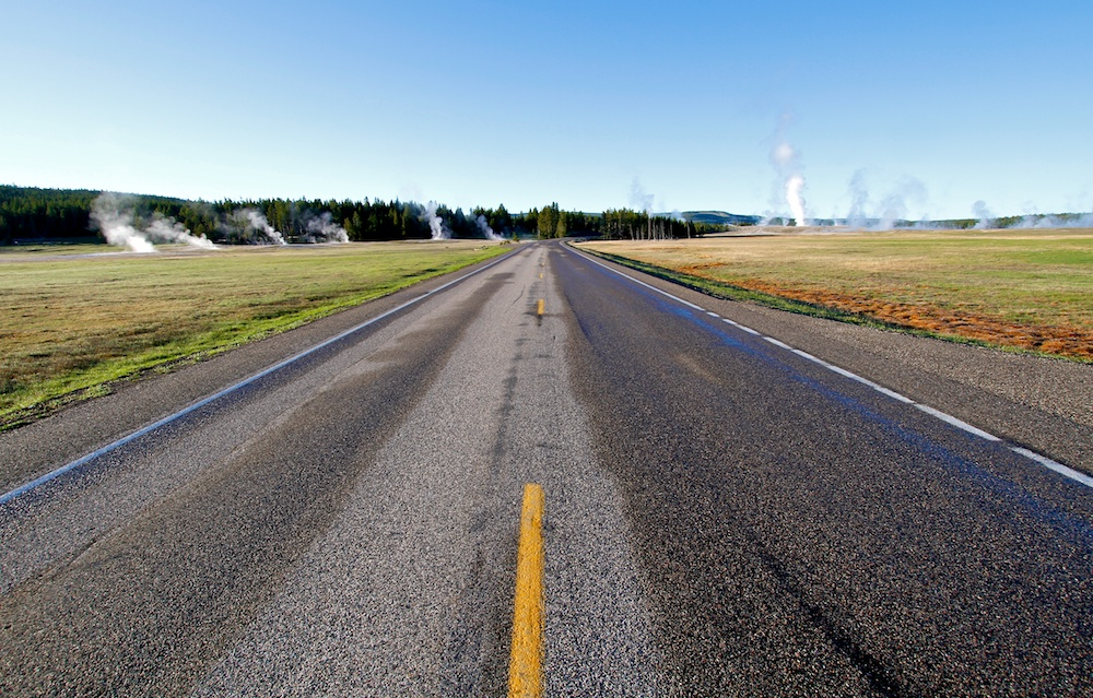 Grand Loop Road+Yellowstone+Wyoming