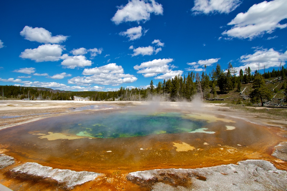 Beauty Pool+Upper Geyser Basin+Yellowstone National Park+Wyoming