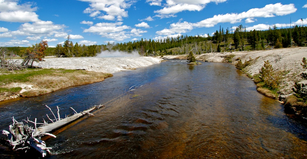 Firehole River+Yellowstone+Wyoming