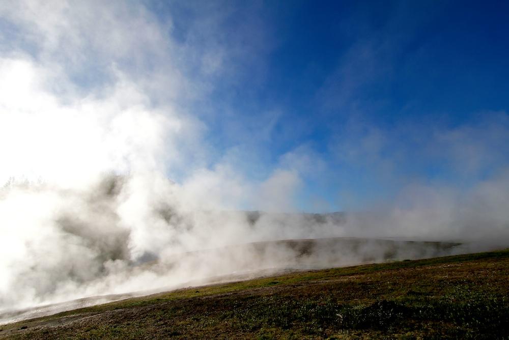 Fumerolles+Midway Geyser Basin+Yellowstone+Wyoming