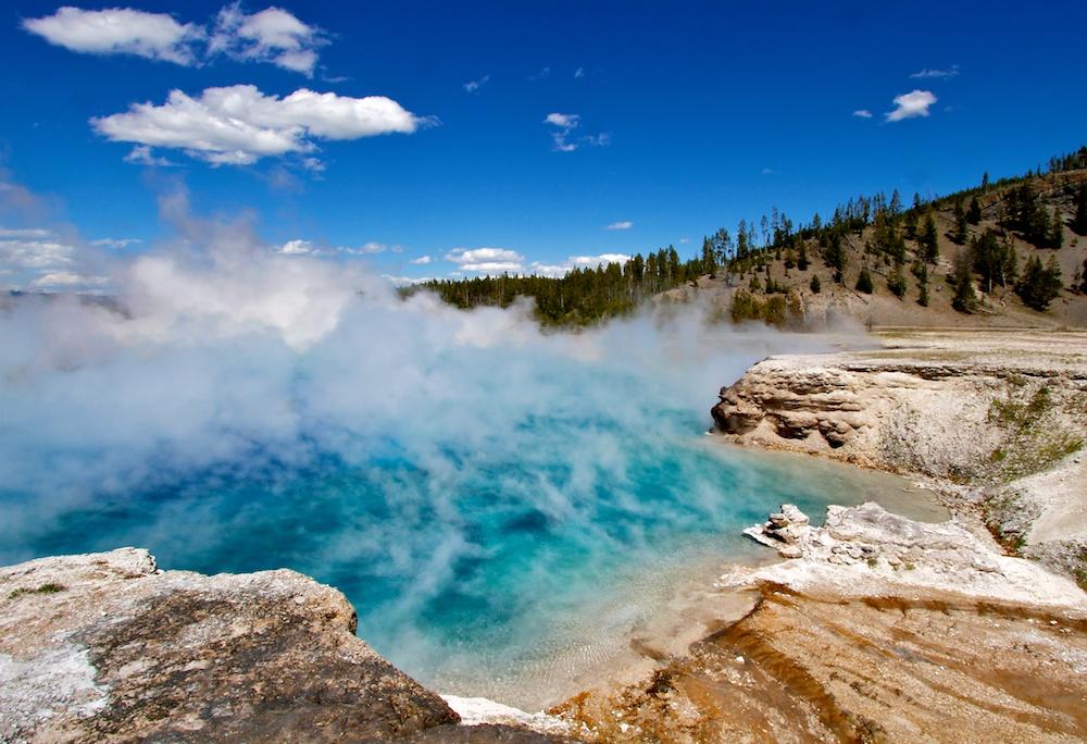Elcelsior Geyser+Midway Geyser Basin+Yellowstone+Wyoming