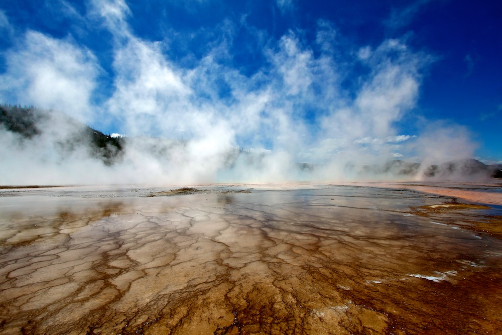 Sclerotique+Grand Prismatic+Yellowstone+Wyoming