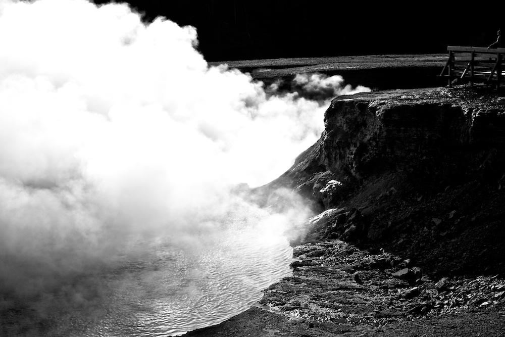 Midway Geyser Basin+Yellowstone