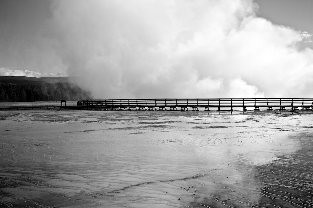 Midway Geyser Basin+Yellowstone+Wyoming