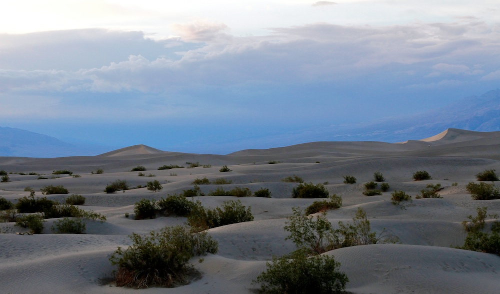 Persévérance - Mesquite Flat Sand Dunes - Death Valley - Californie