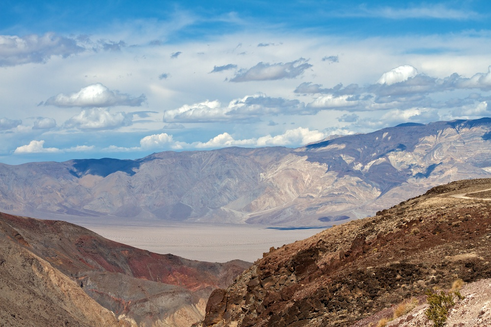 Father Crowley Vista Point - Death Valley National Park (West entrance) - Californie