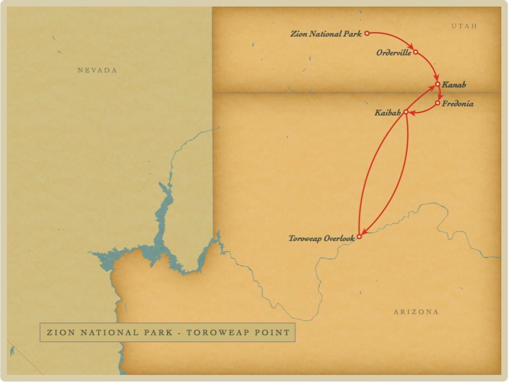 Zion - Toroweap Point