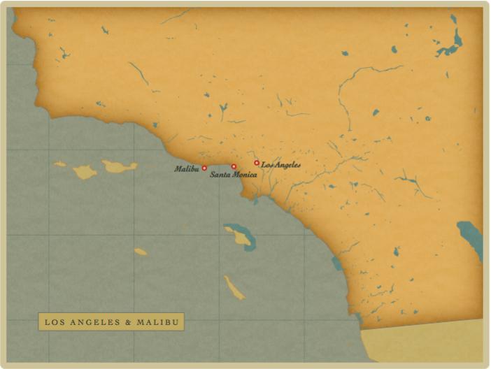 Map LA - Malibu