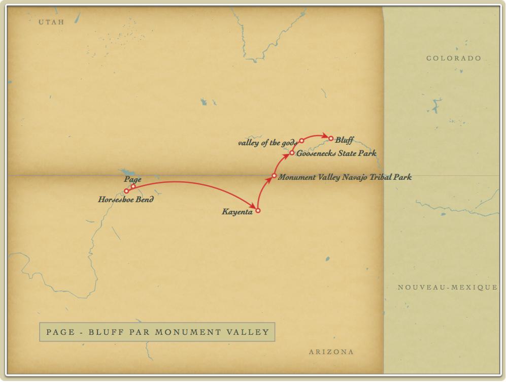 Page - Bluff par Monument Valley