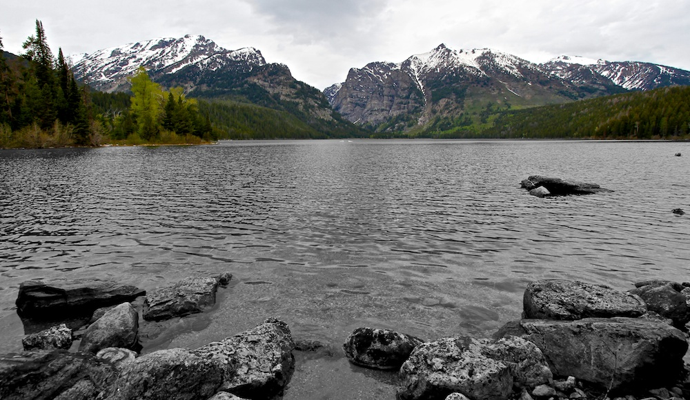 Phelps lake+Grand Teton+Wyoming