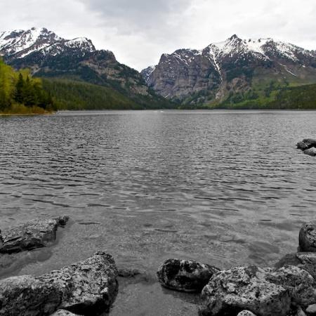 Phelps lake+Grand Teton+Wyoming