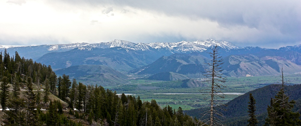 Teton Pass +Gros Ventre+Jackson Hole+Wyoming