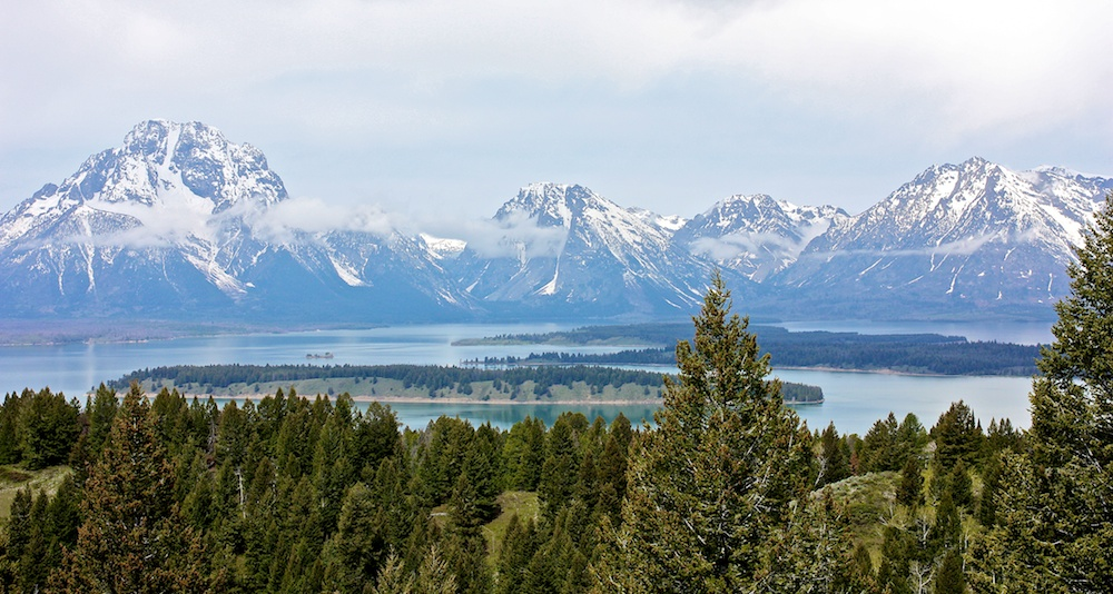 Signal Mountain summit+Grand Teton+Wyoming