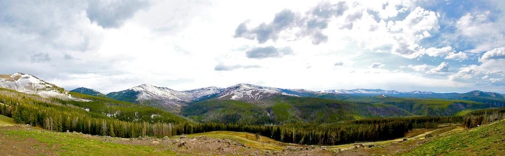 Mont Washburn+Yellowstone