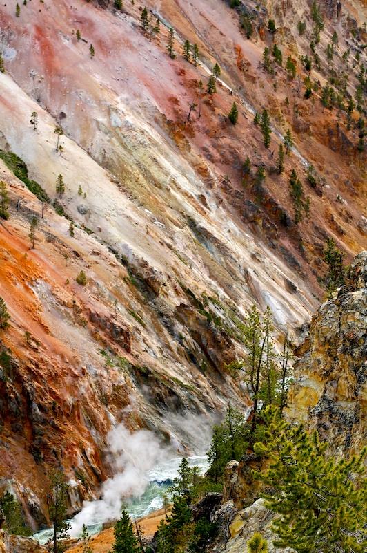 Artist Point+Yellowstone+Wyoming