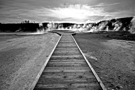 Back Basin+Norris Geyser Basin+Yellowstone