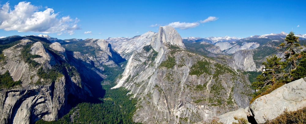 Glacier Point, Half Dome, Yosemite, Californie