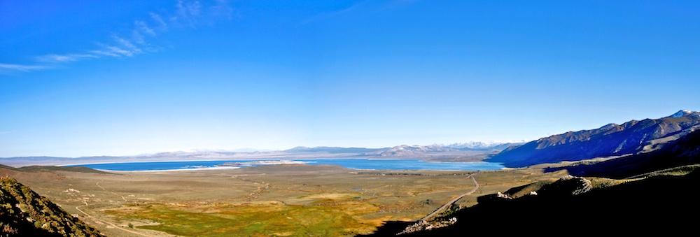 Panorama+Vista Point+US 395+Mono Lake+Lac Mono