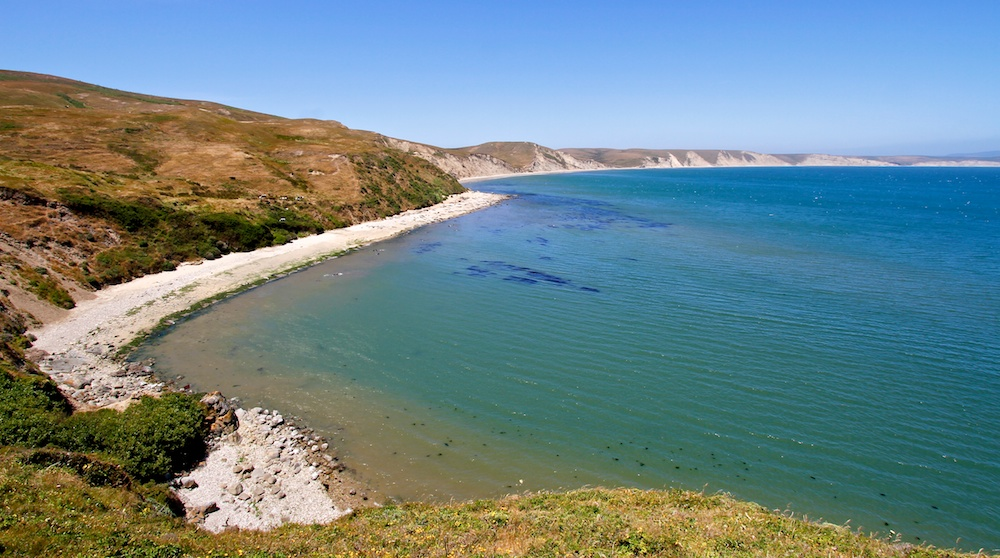 Drakes Beach, Point Reyes, Californie
