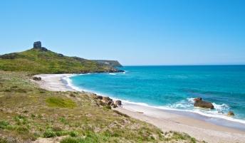 Spiaggia di San Giovanni di Sinis, Sardaigne, Sardinia, Sardegna