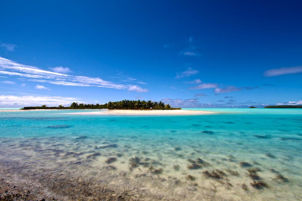 Tahuna Iti, île aux Oiseaux, Tetiaroa, Polynésie, Paysages