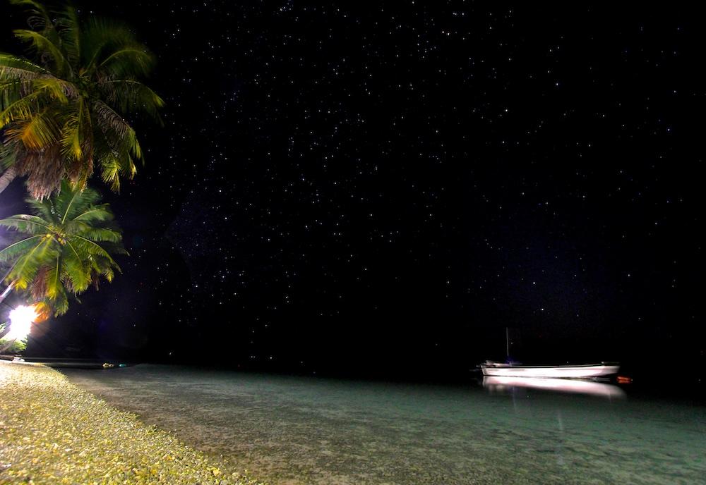 Etoiles, Ahe, Tuamotu, night