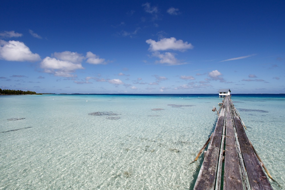 Lagon, Ahe, Tuamotu, paradis