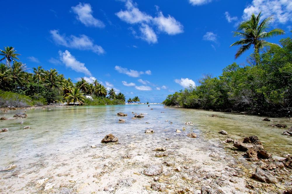 Passe, lagon, mer, Ahe, Tuamotu