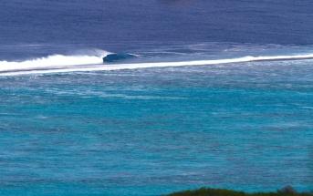 Vague parfaite, Tahiti, Polynésie française