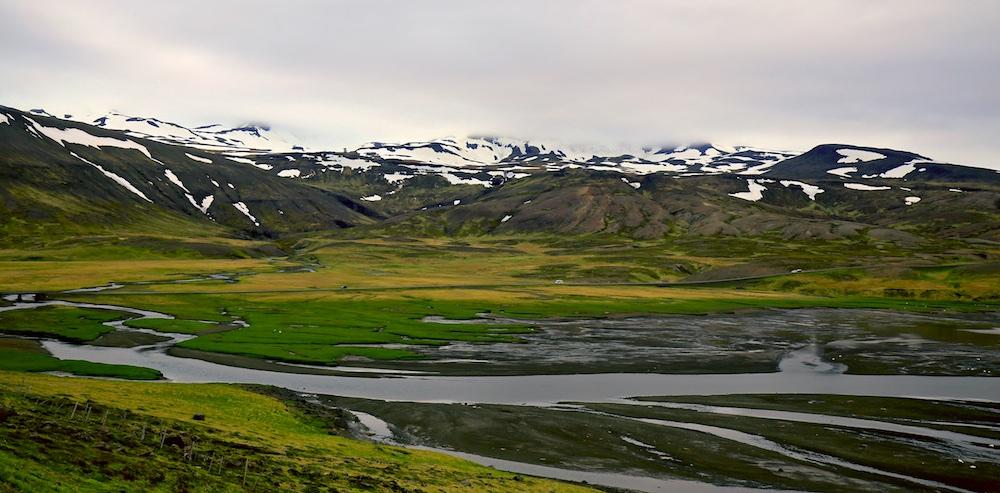 marnage, fjord, Islande
