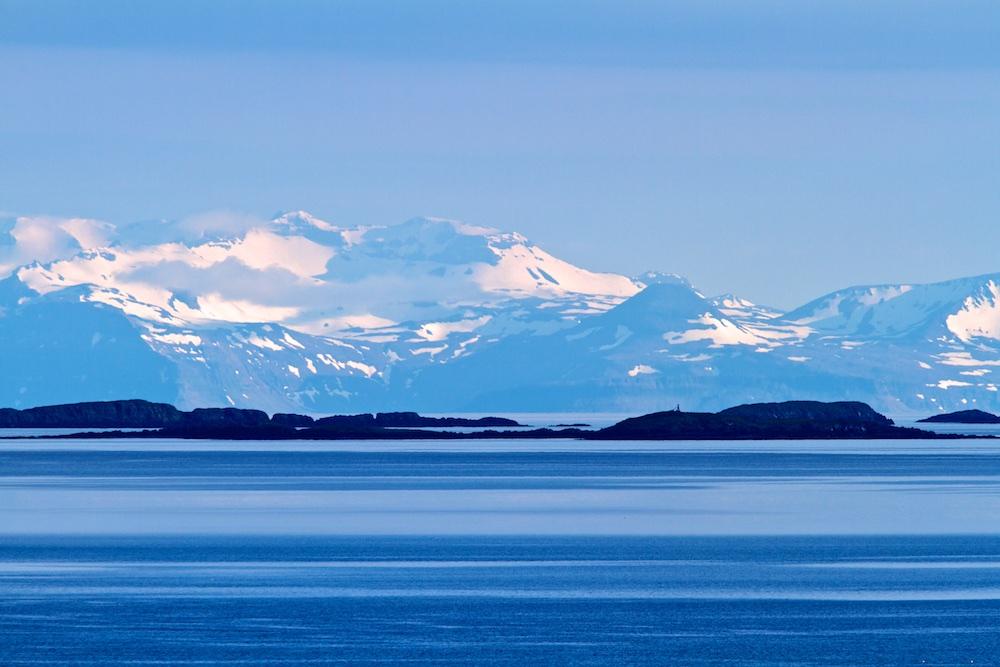 Snæfellsnes, neige, montagne, Islande