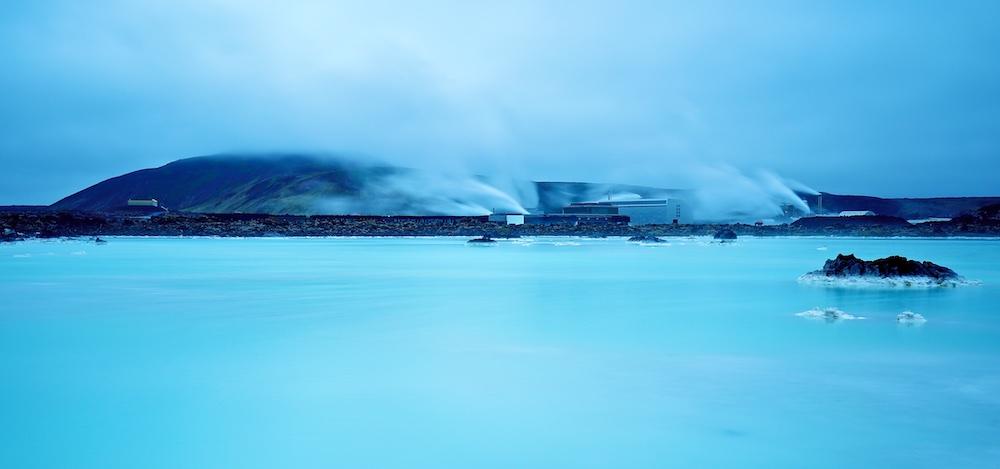 centrale geothermique de Svartsengi, Blue lagoon, Islande