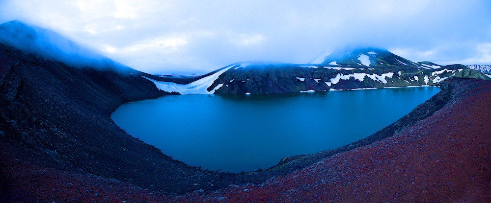 Ljotipollur crater lake, Iceland