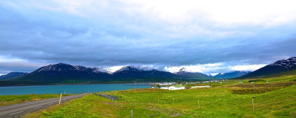 Dalvik, Iceland, landscapes