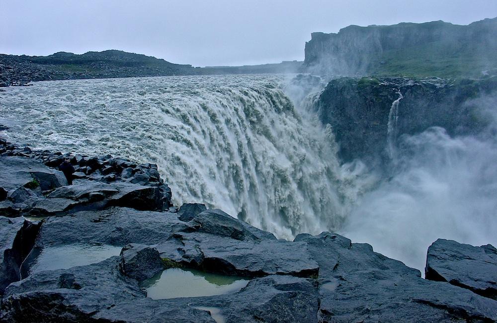 Dettifoss, cascade, Islande