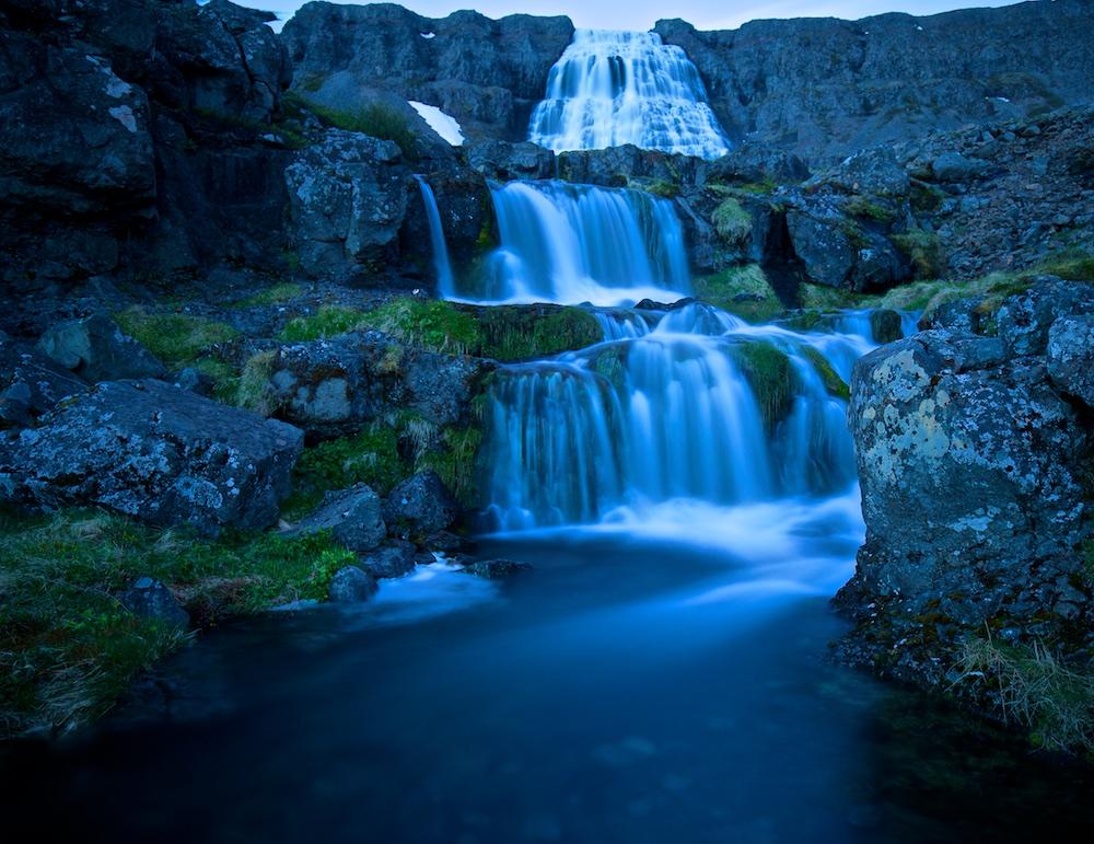 Dynjandi, Fjallfoss, cascades, Islande