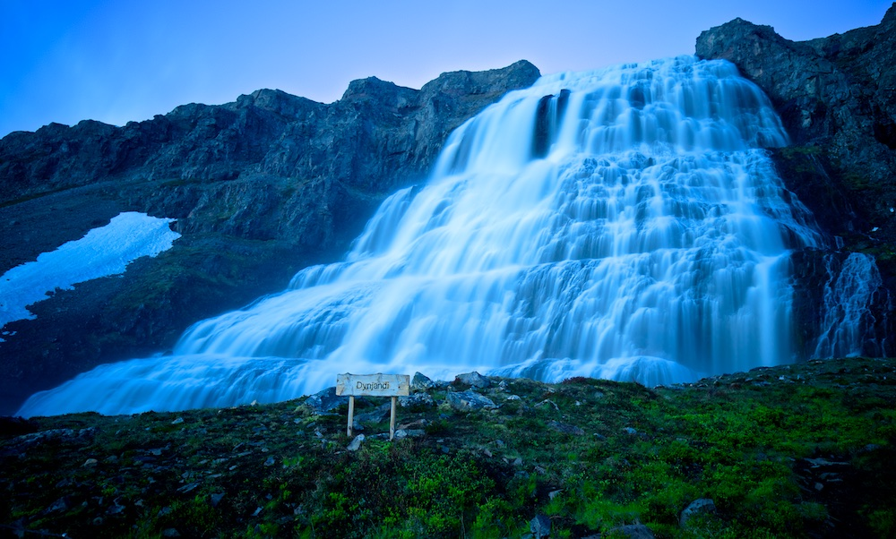 Dynjandi, waterfall, Iceland