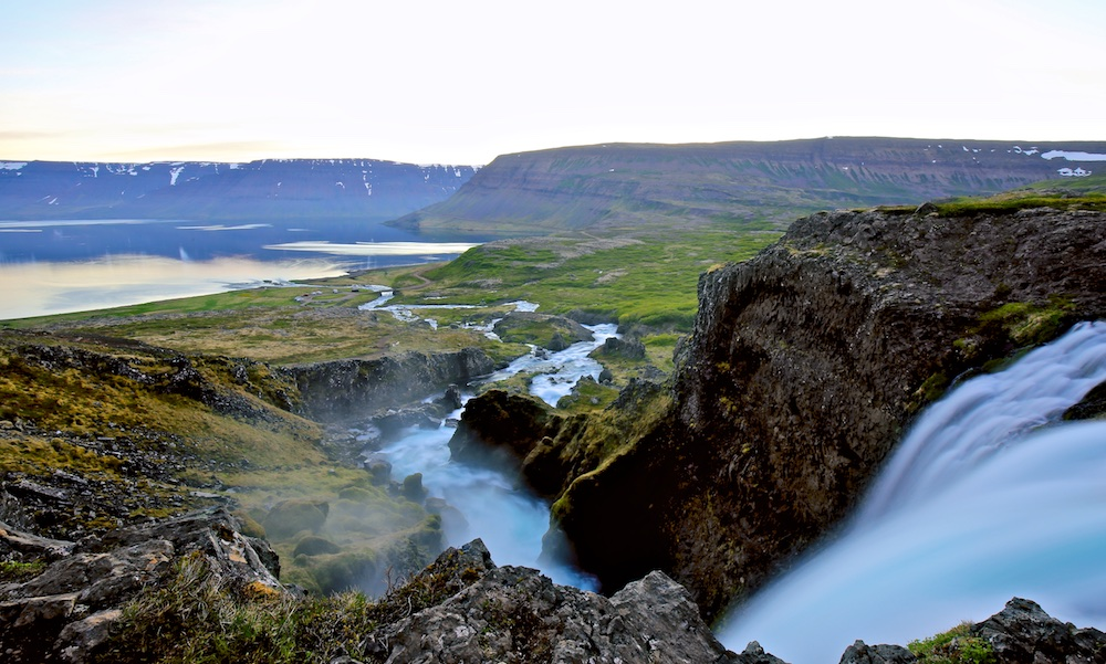 Fjallfoss, Dyjandisvogur, Iceland