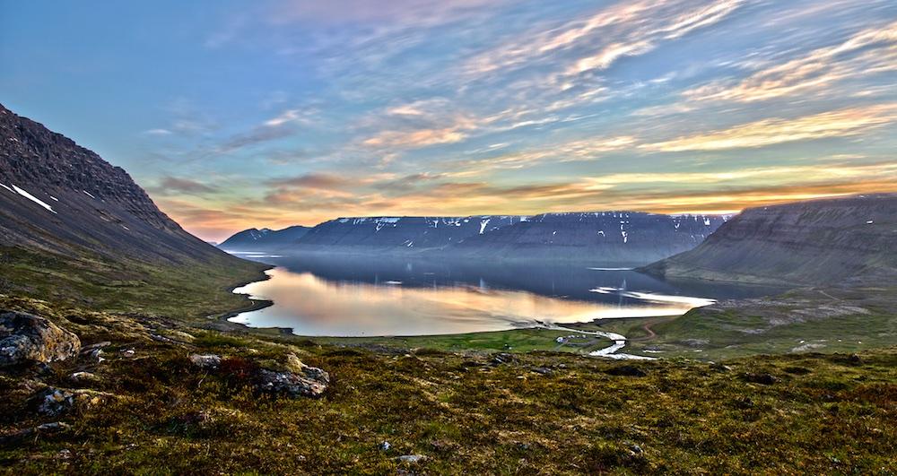 Dyjandisvogur, fjord, Iceland